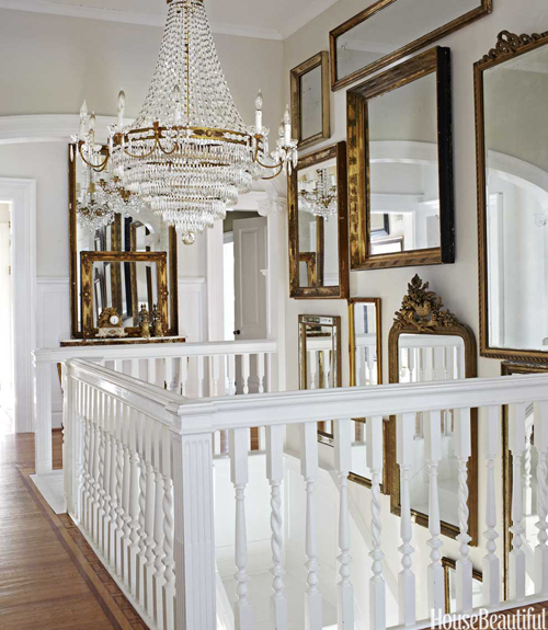 Staircase Wall Mirrors French entrancefoyer House