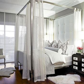brown tufted leatherette ludlow bed w/oversized headboard [mlb, Headboard designs
