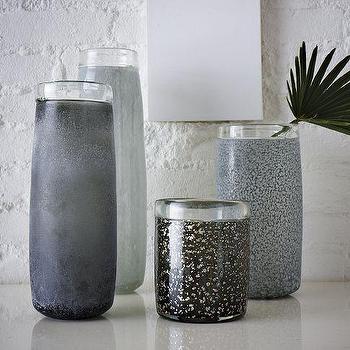 Colored Cylinder Vases, west elm