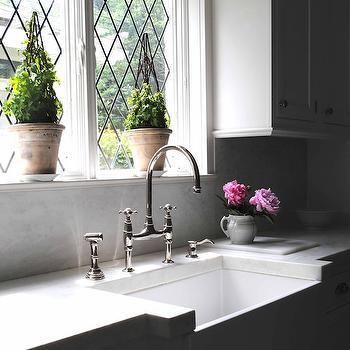 Leaded Glass Windows, Cottage, kitchen, Loi Thai