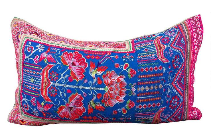 Neon Embroidery Pillow, Shoppe by Amber Interior Design
