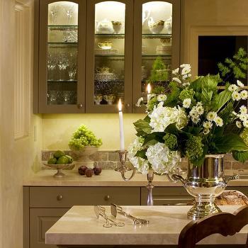 Gray Cabinets, Transitional, kitchen, Mueller Nicholls
