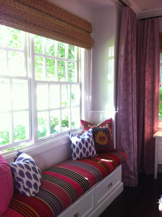 Window Seat In Bedroom Transitional Bedroom Sherwin