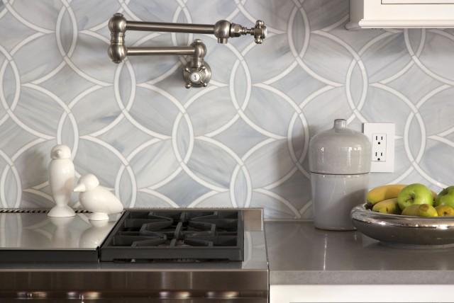 Ann Sacks Glass Tile Backsplash Ann Sacks Kitchen Backsplash  Contemporary  Kitchen  Exquisite .