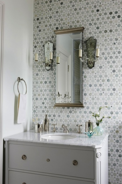 Carrara Marble Vanity Top Design Ideas