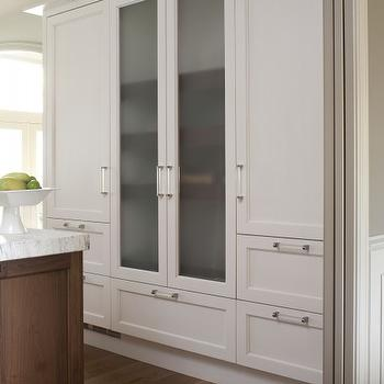 Frosted Glass Cabinet Doors Design Ideas