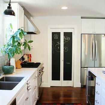 Kitchen Chalkboard & Chalkboard Doors Design Ideas Pezcame.Com