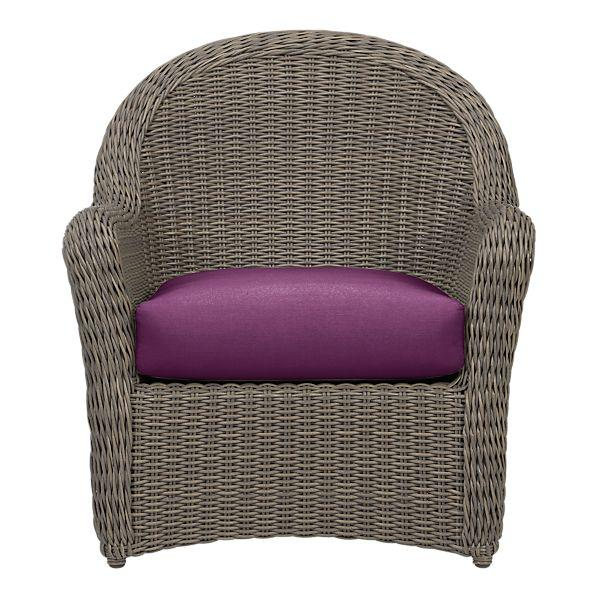Summerlin Lounge Chair With Sunbrella�® Phlox Cushion In Outdoor Lounging  | Crate And Barrel