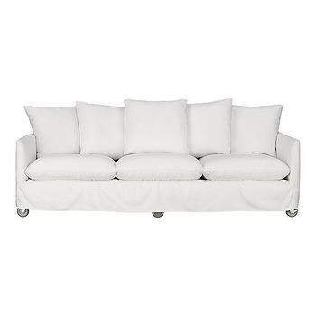 Catalina Sofa with Casters in Outdoor Lounging, Crate and Barrel