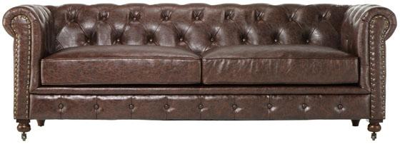 Home Decorators Collection Gordon Tufted Sofa View Full Size
