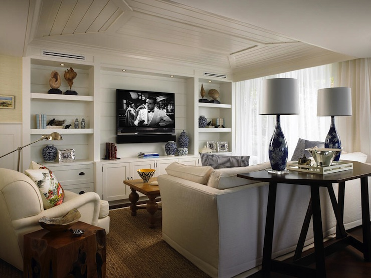 Tv Built Ins Cottage Living Room Elsa Soyars