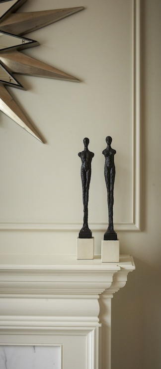 Modern Figurines, Contemporary, living room, Khachi Design Group