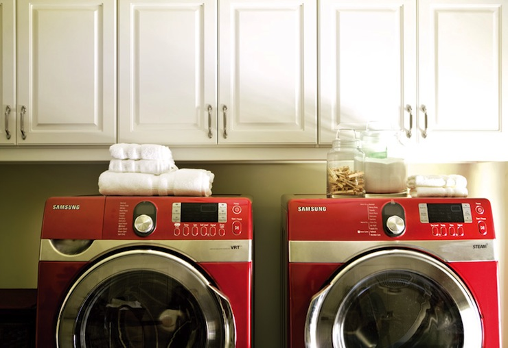 Front Washer And Dryer Part - 50: Red Front Load Washer And Dryer View Full Size