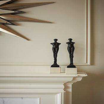Ivory color paint wall