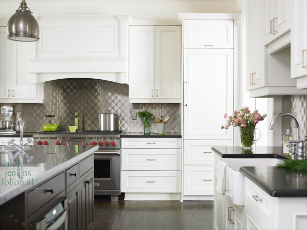 Stainless Steel Backsplash Design Ideas