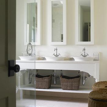Bathroom Vanity Baskets woven vanity baskets design ideas