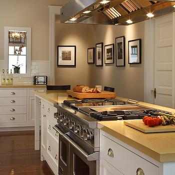 Transitional Kitchen View Full Size Beautiful Kitchen With Cafe Au Lait