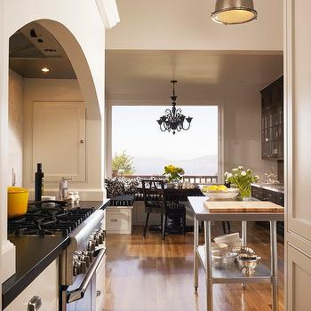 Curved Kitchen Hood