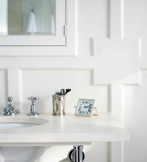 Bathroom Paneling Ideas: 2 Leg Washstand Design Ideas