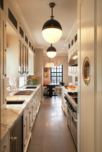White Galley Kitchen white galley kitchen design ideas