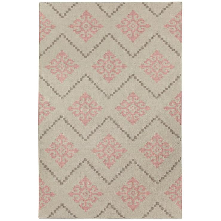 Capel Rugs Flakes Peony Woven Wool Rug