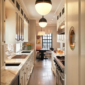 David Scott Interiors · White Galley Kitchen