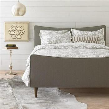DwellStudio Watercolor Smoke Duvet Cover Set