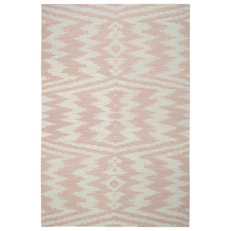 Capel Rugs Junction Pink Wool Rug