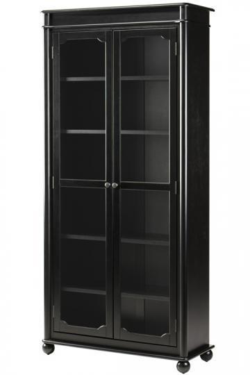 Essex Bookcase With Glass Doors   Glass Door Bookcases   Bookcases    Furniture   HomeDecorators.com