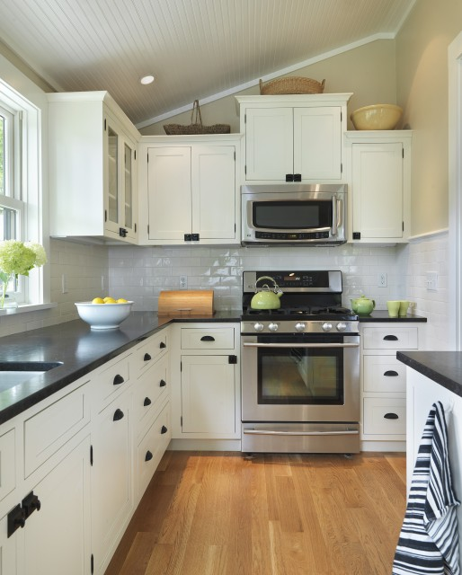 White Kitchen Cabinet Hardware: Benjamin Moore Gray