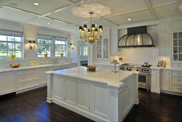 Dome KItchen Hood, Traditional, kitchen, Torre Construction & Development