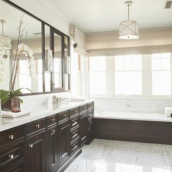 Espresso bathroom cabinets design ideas for Espresso bathroom ideas
