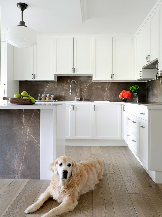 Contemporary White Shaker Kitchen white shaker kitchen cabinets design ideas