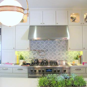 Ann Sacks Kitchen Backsplash, Contemporary, kitchen, Palmer Weiss