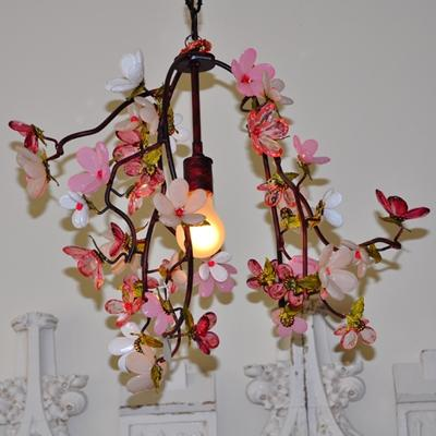 Rachel Ashwell Shabby Chic Couture Racine One Light Chandelier