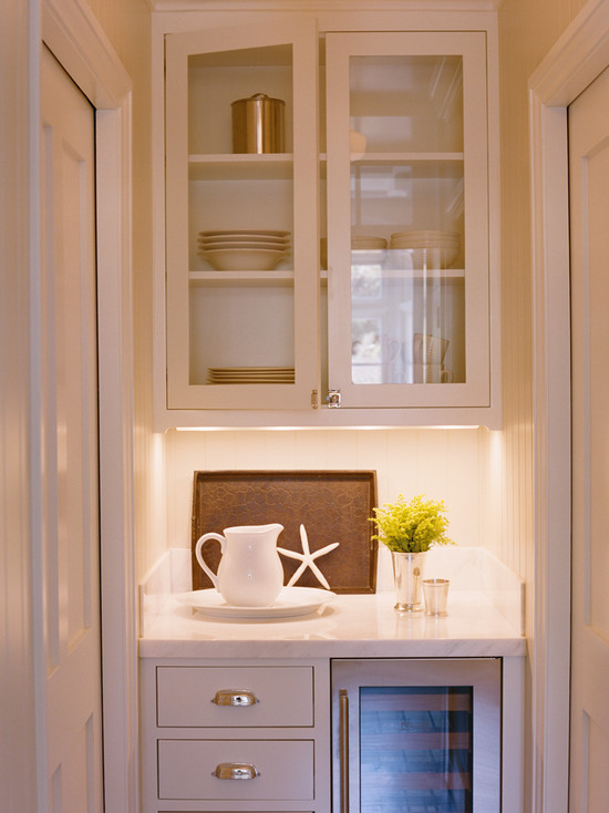 butlers pantry with pocket doors view full size