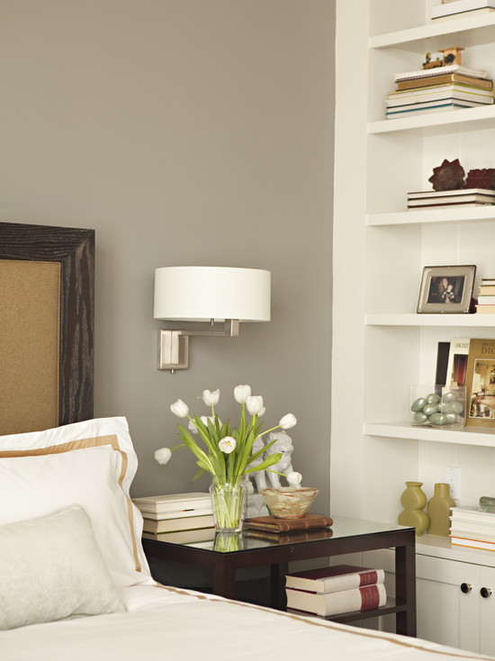 Gray Lacquer Nightstands