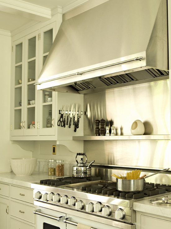 wall pot rack cottage kitchen talk of the house