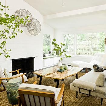 Mid-Century Modern Living Room, Vintage, living room, Jessica Helgerson Interior Design