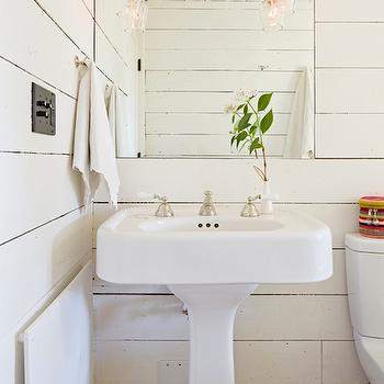 Paneled Bathroom, Cottage, bathroom, Jessica Helgerson Interior Design