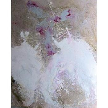 Laurence Amelie Painting of Tutus LA044C
