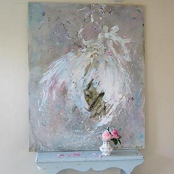 Laurence Amelie Painting of Tutus