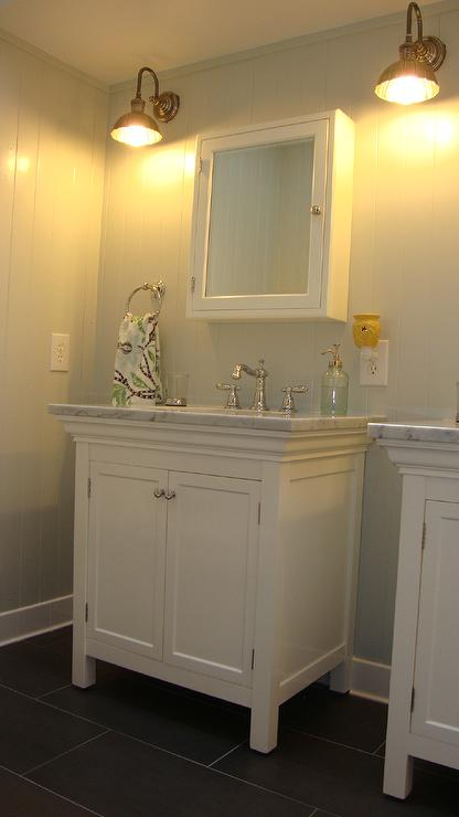 Girls Bathroom Design Cottage Bathroom Benjamin Moore Gray Owl Steward Of Design