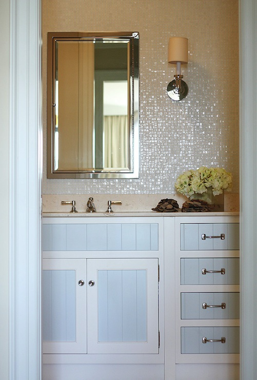 two tone bathroom cabinets two tone cabinets contemporary bathroom phoebe howard 21072