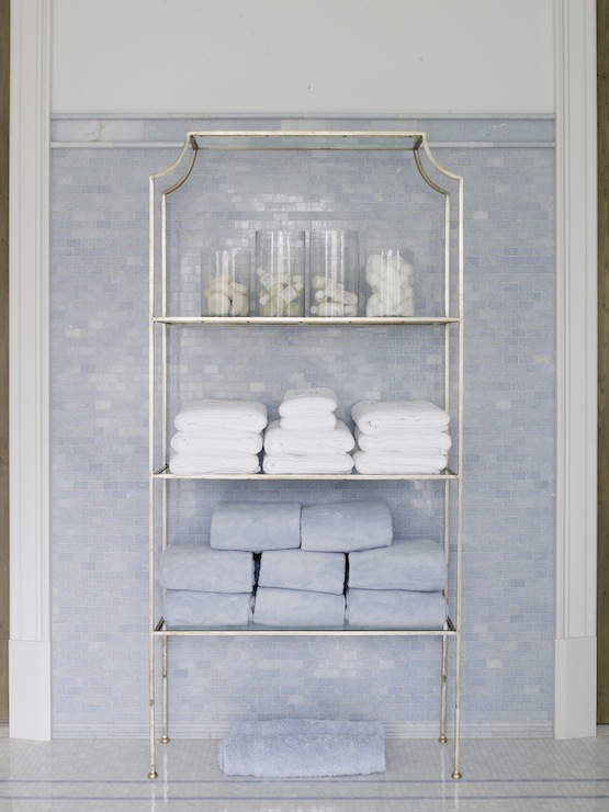 Bathroom Etagere Design Ideas