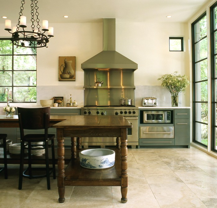 Farmhouse kitchen island eclectic kitchen the iron gate for Style kitchen nashville