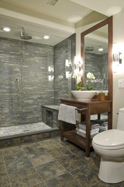 Shower With Bench Ideas Part - 39: Glass Shower Ideas