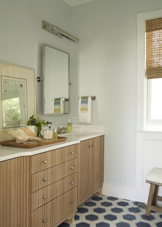 Hex Bathroom Floor Design IdeasPage 1