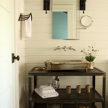 Open Bathroom Vanity Contemporary Bathroom Paola Salinas
