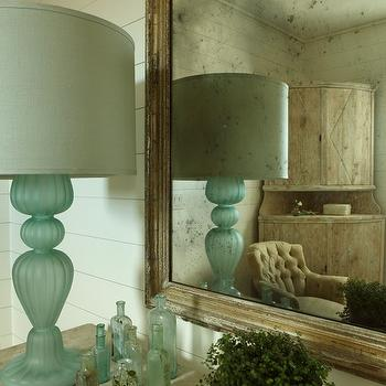 Turquoise Lamp, Cottage, bedroom, The Iron Gate